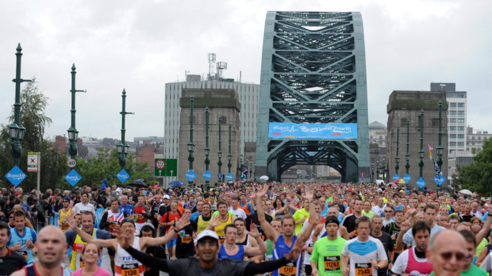 Great North Run 2016