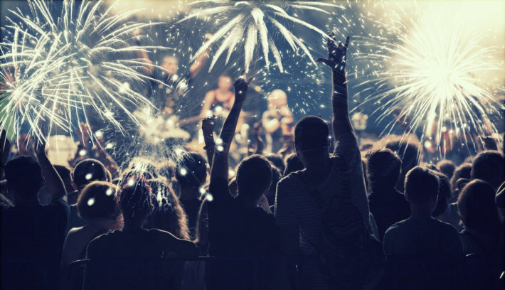 Top 6 New Years Eve Destinations in the UK