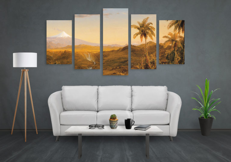 How To Hang A Canvas Print